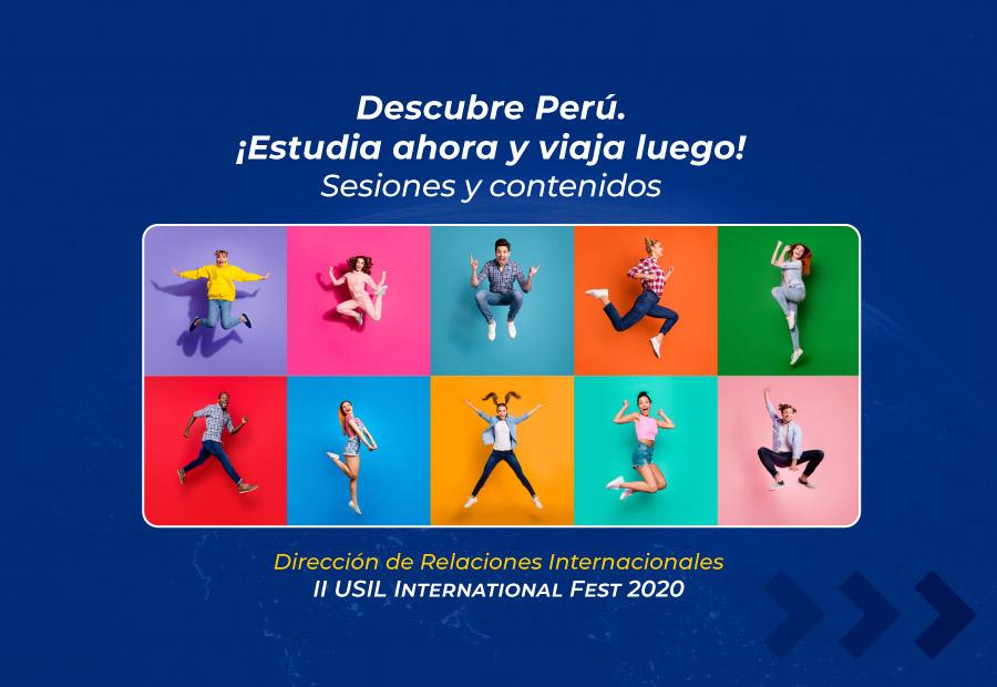 II USIL International Fest 2020 | Alumnos mundo